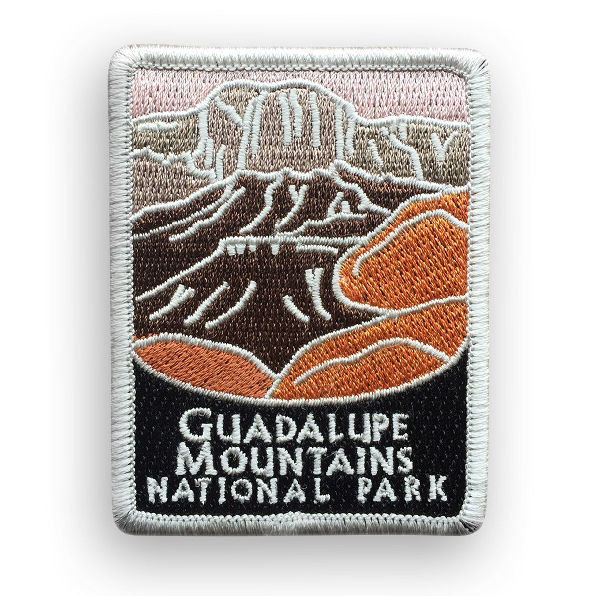 Guadalupe Mountains National Park Traveler Patch