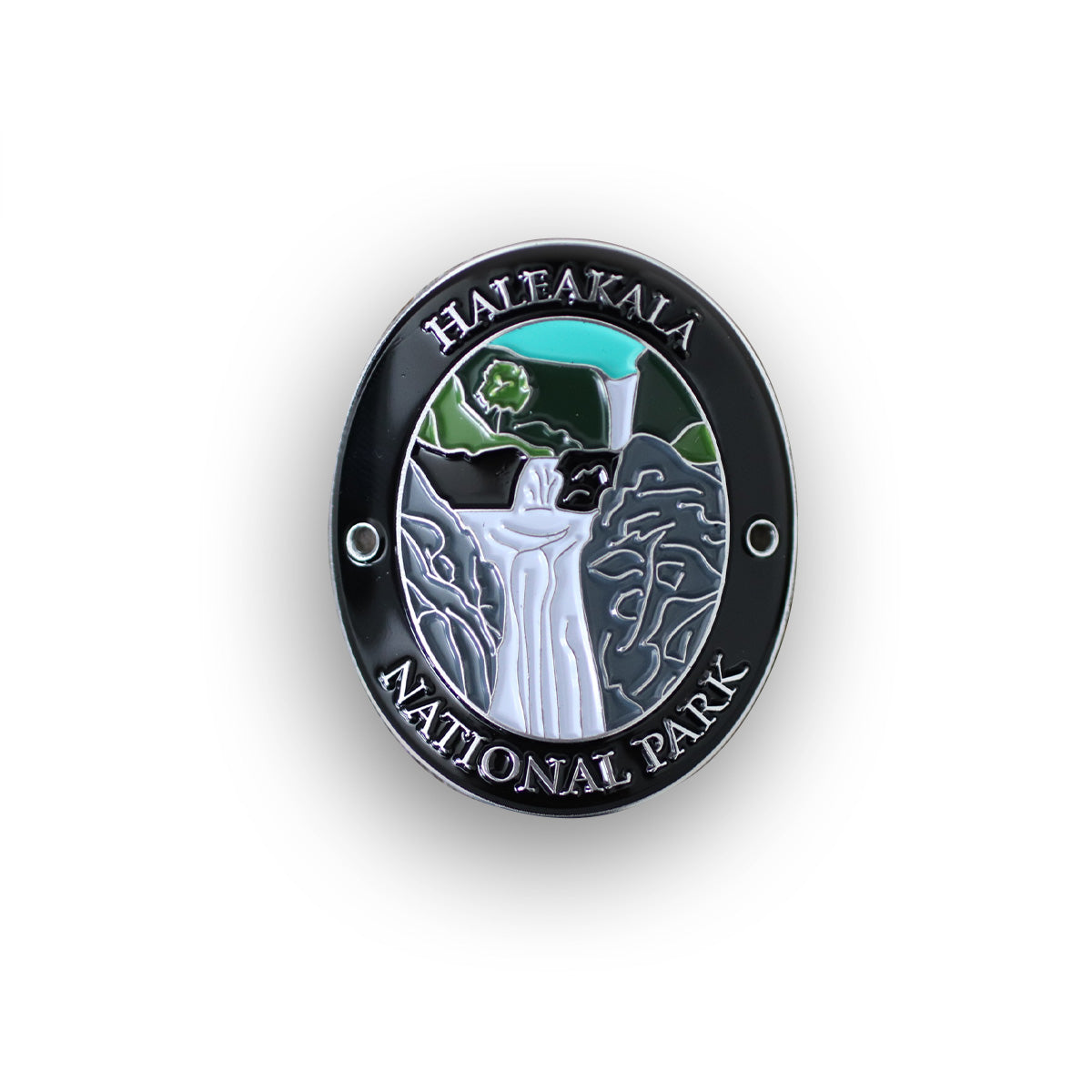 Haleakala National Park Walking Stick Medallion