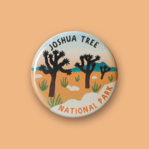 Joshua Tree National Park Merit Badge Button