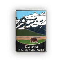 Katmai National Park And Preserve Pin