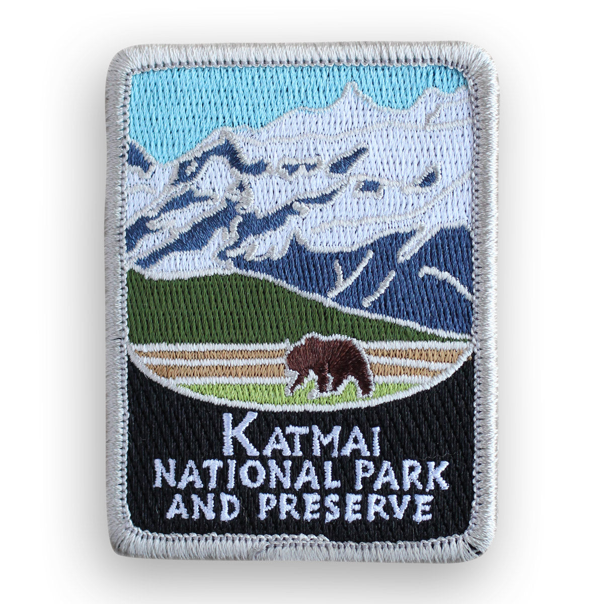 Katmai National Park and Preserve Traveler Patch