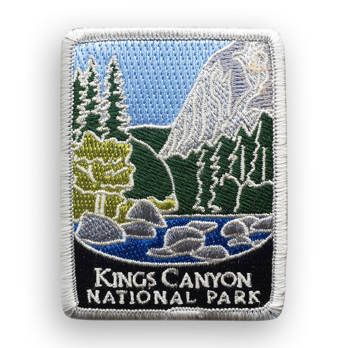 Kings Canyon National Park Traveler Patch
