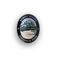 Kobuk Valley National Park Walking Stick Medallion