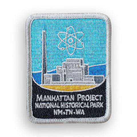 Manhattan Project National Historical Park Traveler Patch