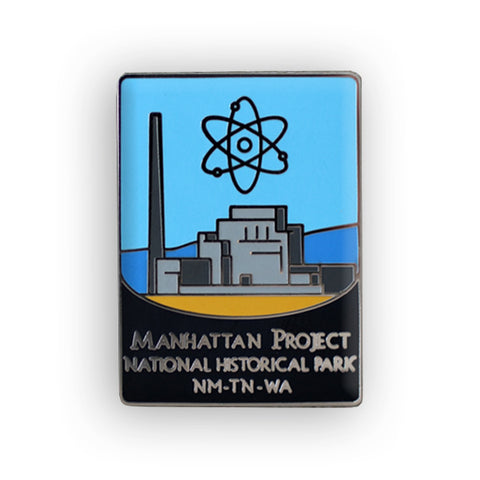 Manhattan Project National Historical Park Traveler Pin