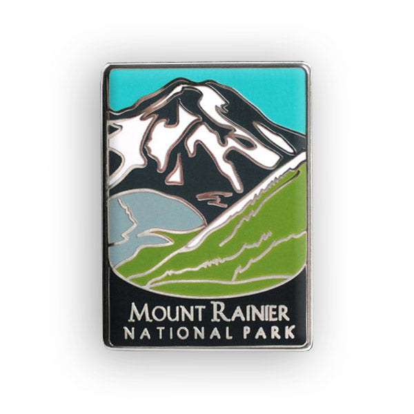 Mount Rainier National Park Traveler Pin