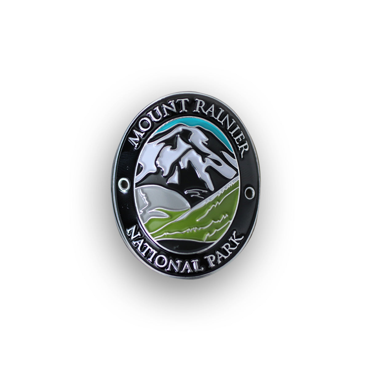 Mount Rainier National Park Traveler Walking Stick Medallion