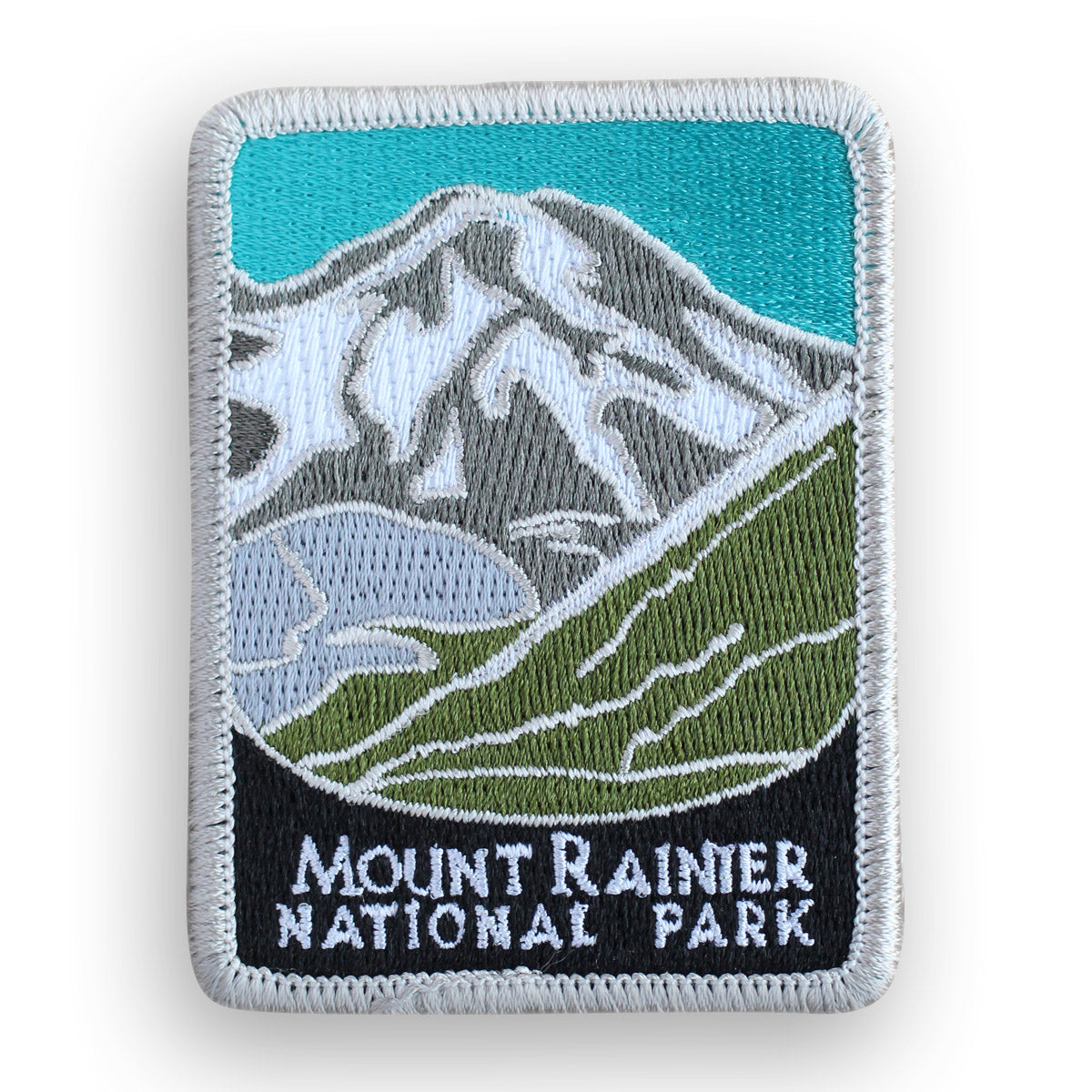 Mount Rainier National Park Traveler Patch