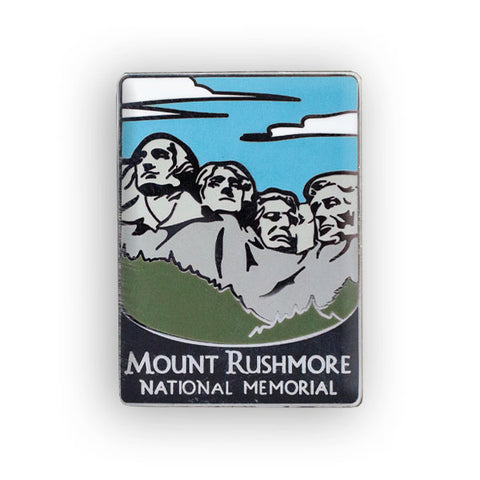 Mount Rushmore National Memorial Traveler Pin