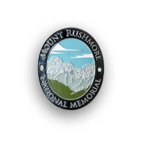 Mount Rushmore National Memorial Traveler Walking Stick Medallion