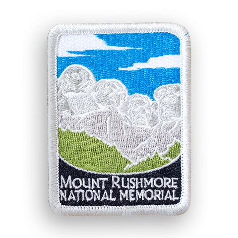 Mount Rushmore National Memorial Traveler Patch