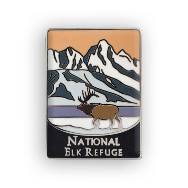 National Elk Refuge Traveler Pin