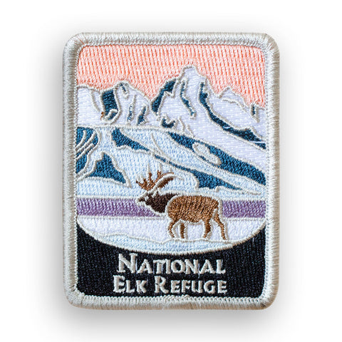 National Elk Refuge Traveler Patch