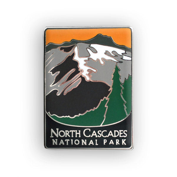 North Cascades National Park Traveler Pin