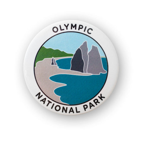 Olympic National Park Metal Magnet
