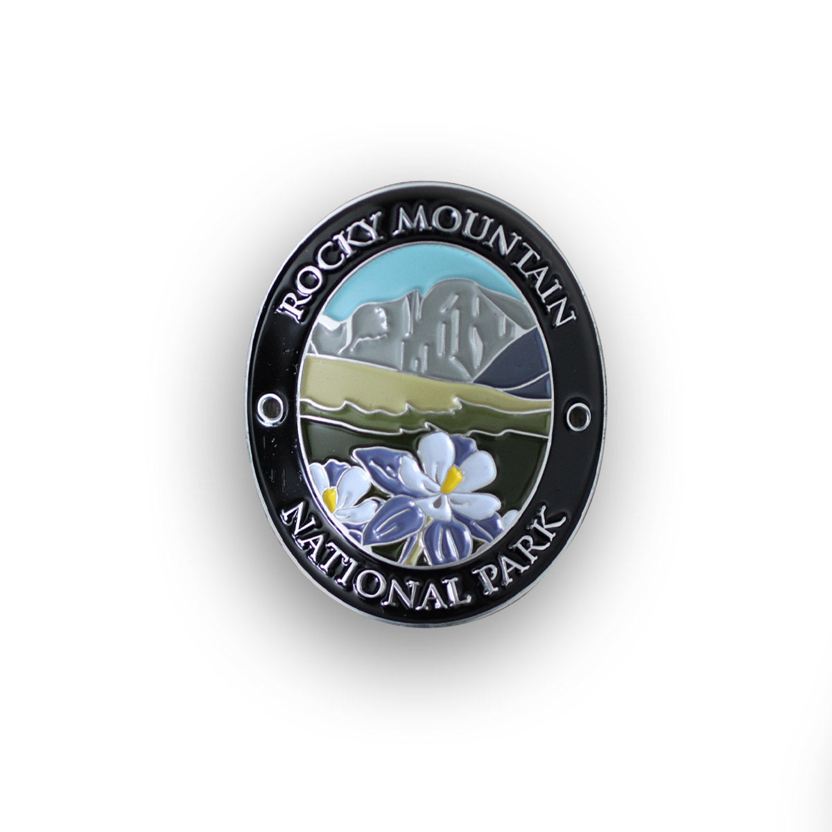 Rocky Mountain National Traveler Walking Stick Medallion