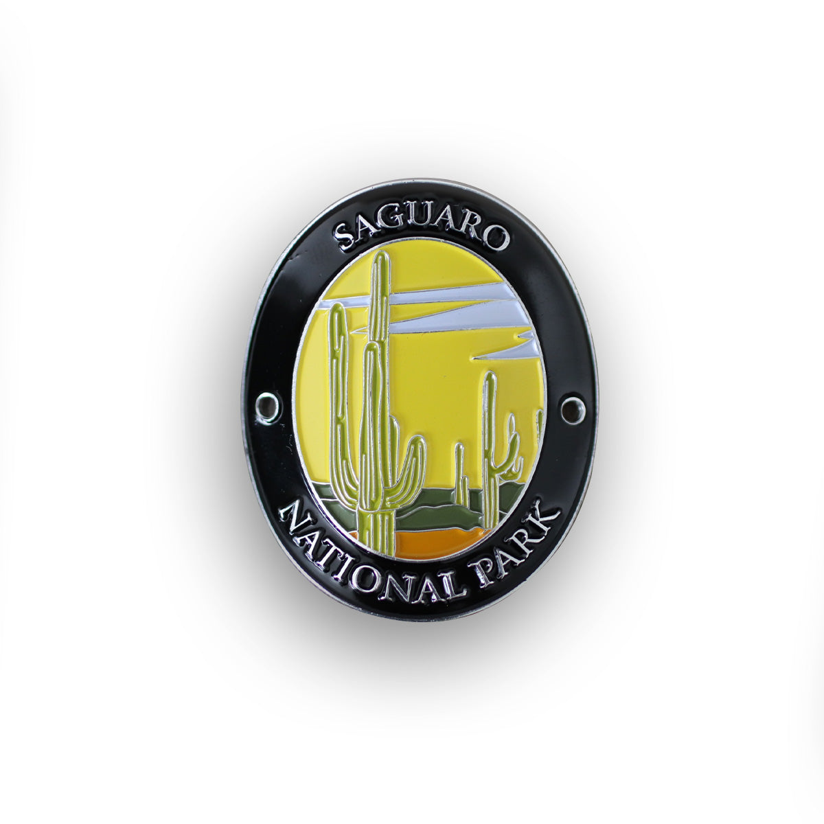 Saguaro National Park Traveler Walking Stick Medallion
