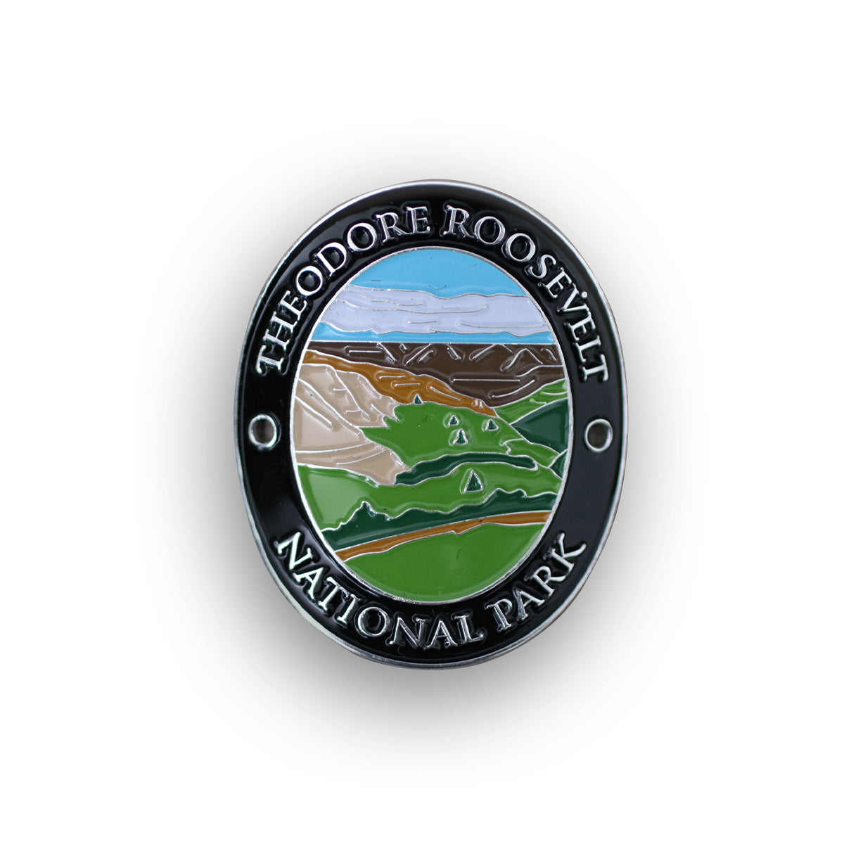 Theodore Roosevelt National Park Walking Stick Medallion