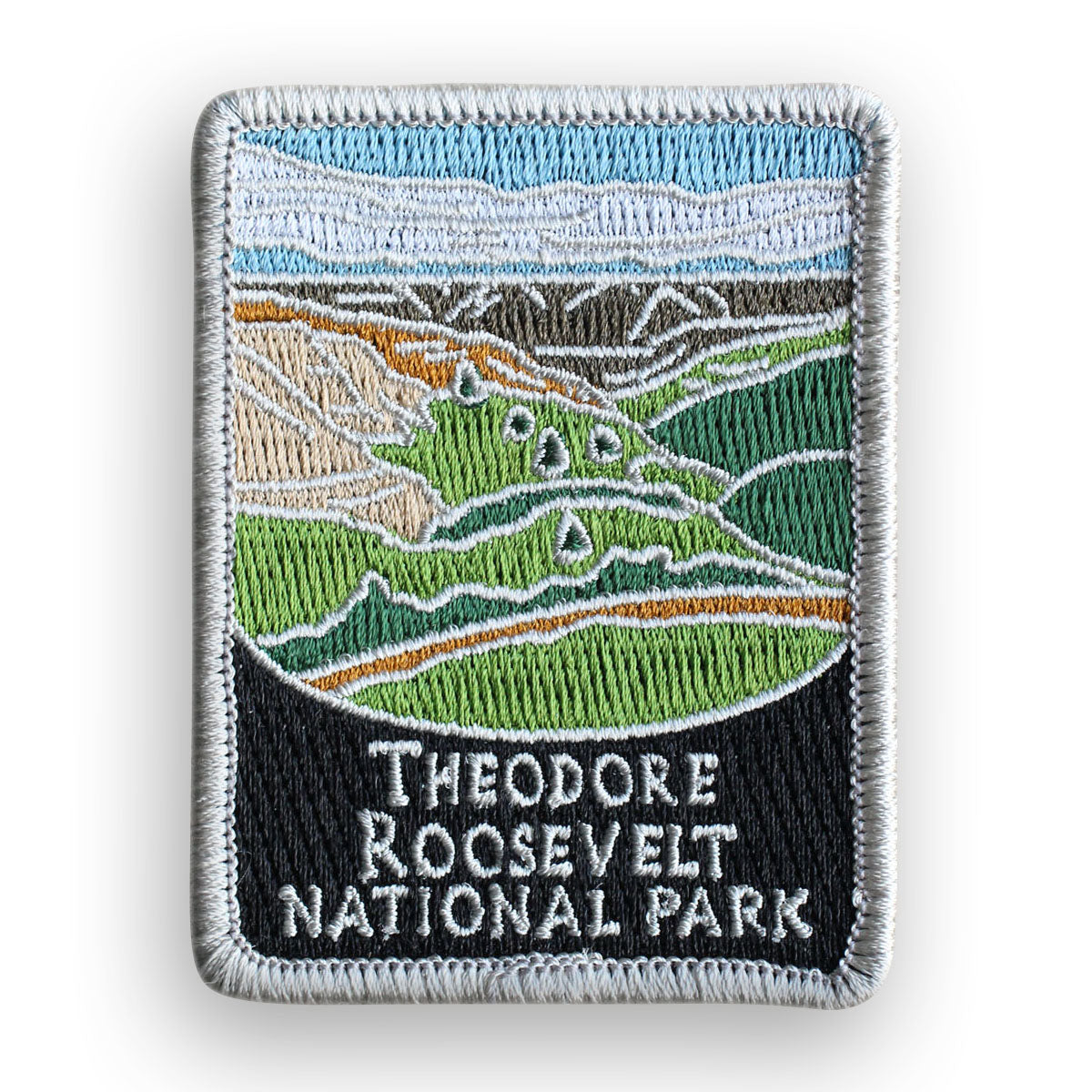Theodore Roosevelt National Park Traveler Patch