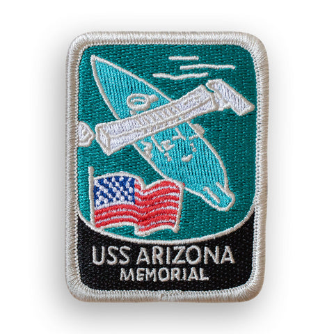 USS Arizona Memorial Traveler Patch