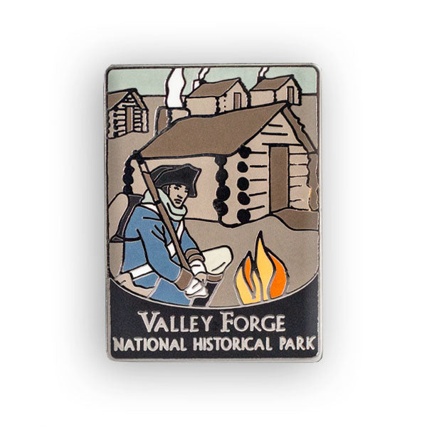 Valley Forge National Historical Park Traveler Pin