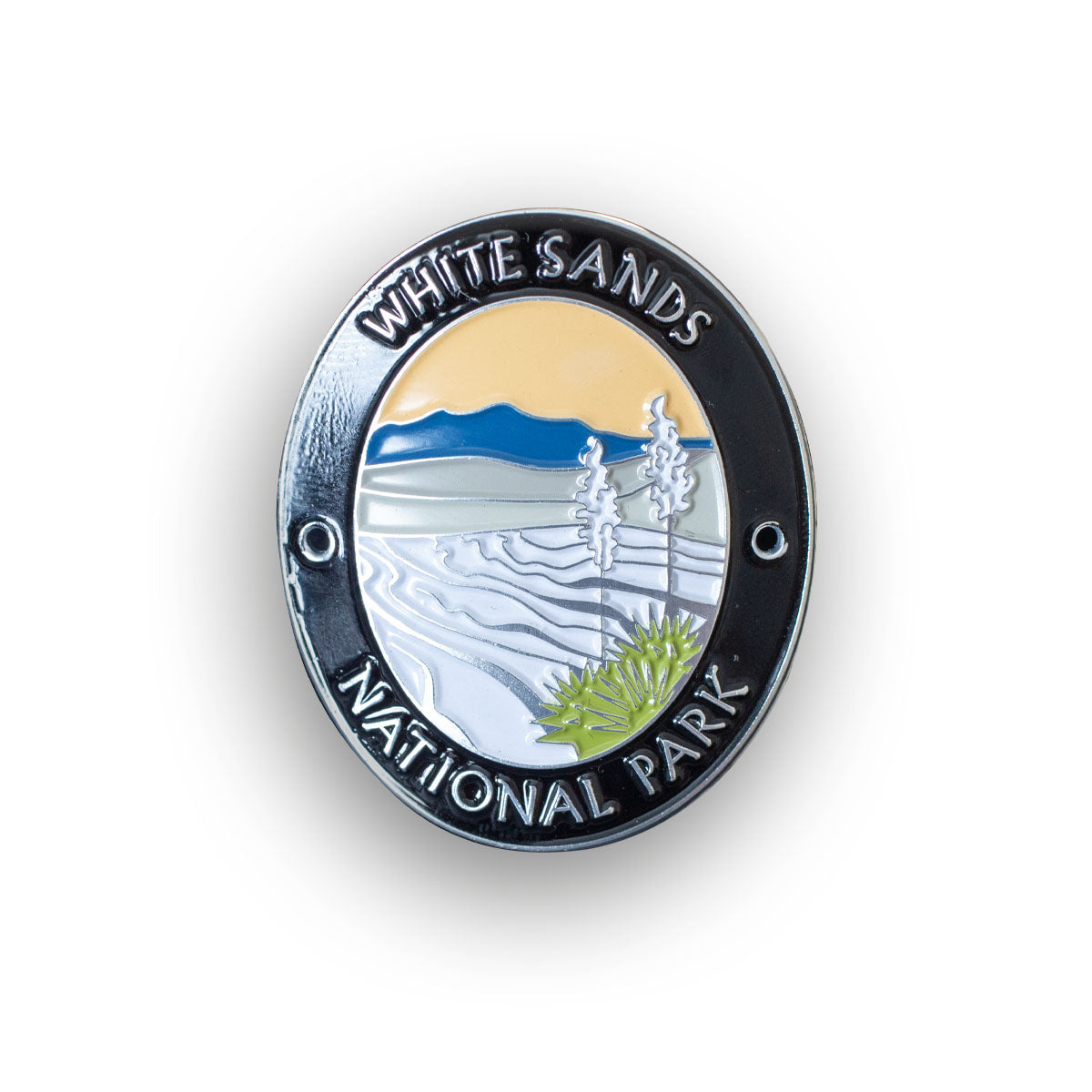 White Sands National Park Walking Stick Medallion
