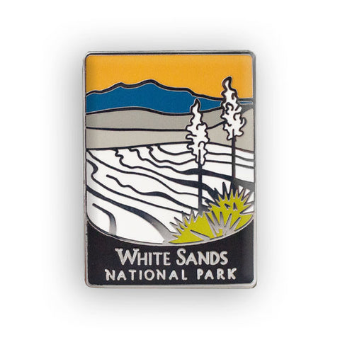 White Sands National Park Traveler Pin
