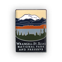 Wrangell-St. Elias National Park and Preserve Traveler Pin