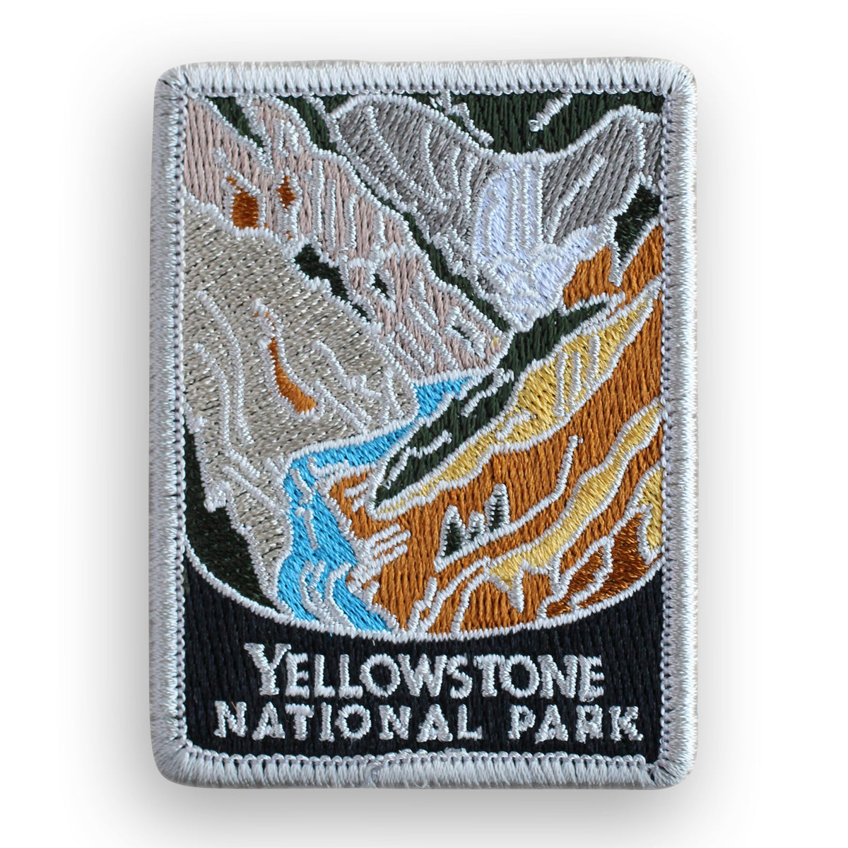 Yellowstone National Park Traveler Patch