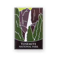 Yosemite National Park Traveler Magnet
