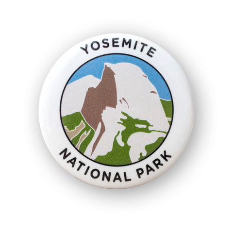 Yosemite National Park Button