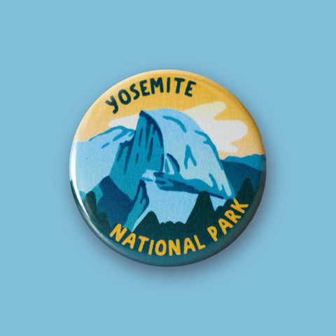 Yosemite National Park Merit Badge Button