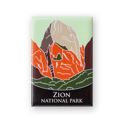 Zion National Park Traveler Magnet