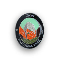 Zion National Park Traveler Walking Stick Medallion