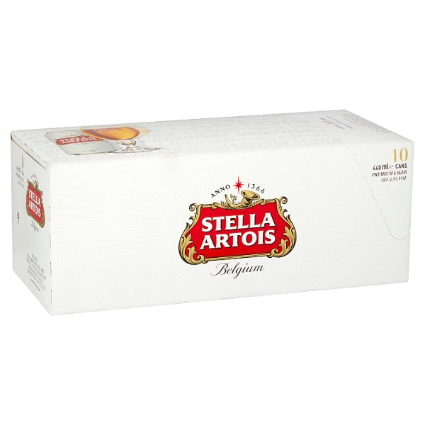 Stella Artois Lager Cans