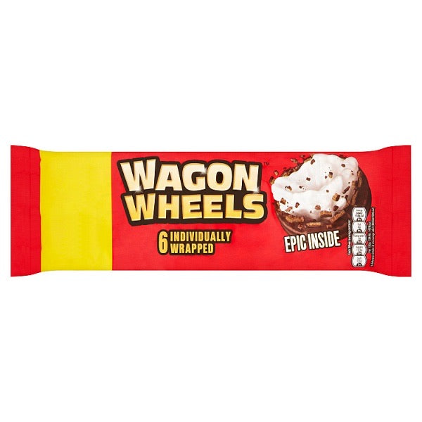 Wagon Wheels Pack of 6