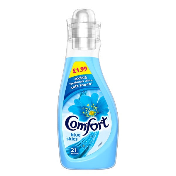 Comfort Concentrated Blue Skies Fabric Conditioner