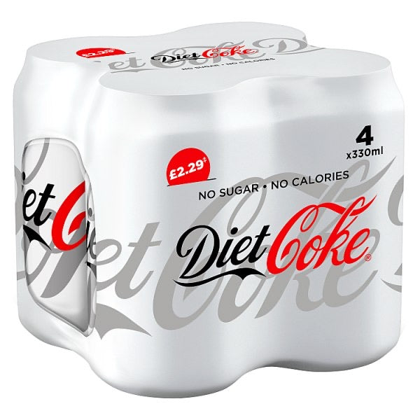 Diet Coke 4x 330ml