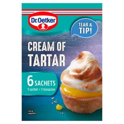 Dr Oetker Cream of Tartar 6 Sachets
