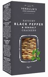 Verduijn's Black Pepper crackers
