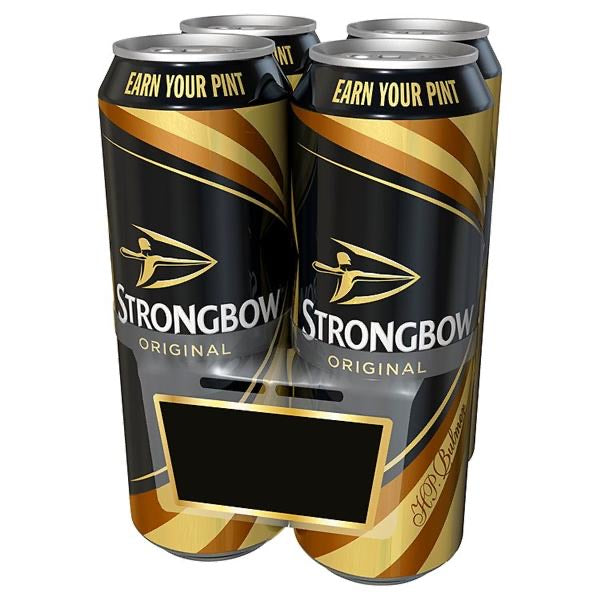 Strongbow Original Cider 4 x 568ml