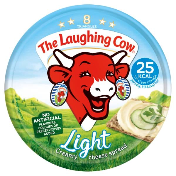 Laughing Cow Light Cheese Portions