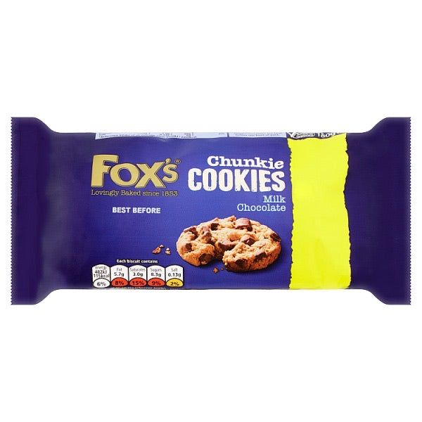 Foxs Milk Chocolate Cookies