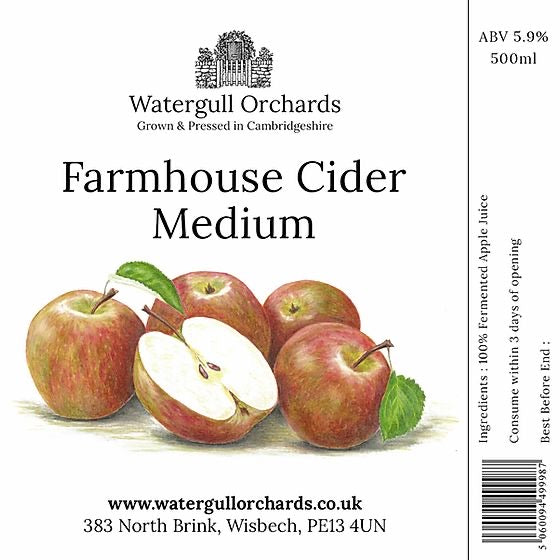 Watergull Orchards Farmhouse Cider- Medium