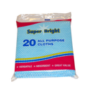 Superbright All purpose Cloths