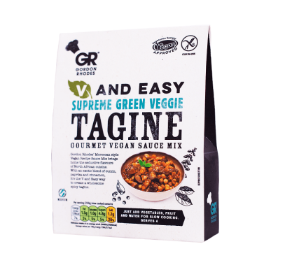 Gordon Rhodes V and Easy Lean Green Tagine Mix