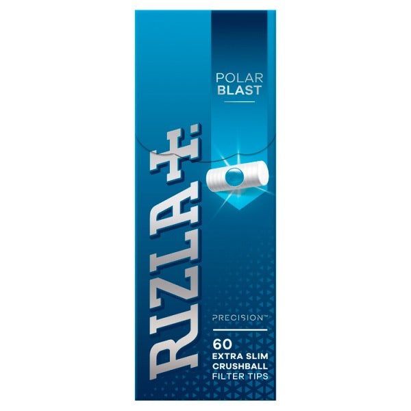 Rizla Extra Slim Polar Blast Crushball Filter Tips