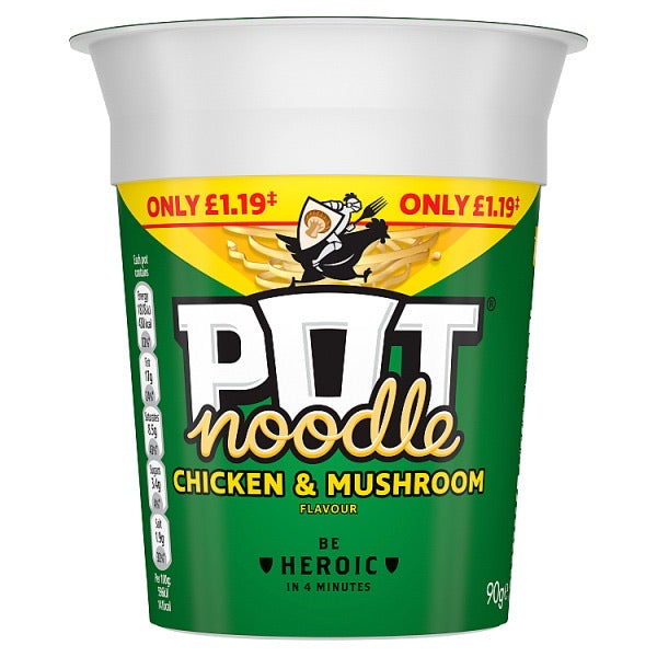 Pot Noodle- Chicken and Mushroom
