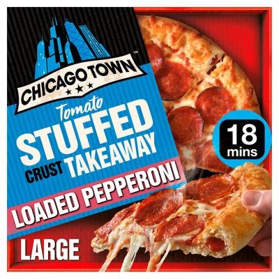 Chicago Town Takeaway Stuffed Crust Pepperoni Pizza