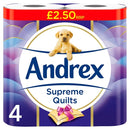 Andrex Supreme Quilts 4 pack